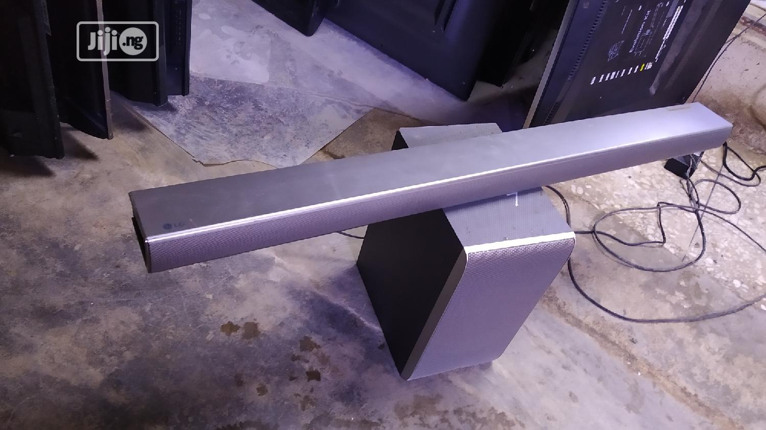 LG Sound Bar Sj5 With Wireless Subwoofer 4K | Audio & Music Equipment for sale in Ojo, Lagos State, Nigeria