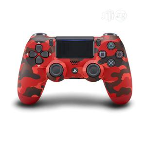 PS4 Game Controller Red Camo Gamepad With Touchpad Lightbar | Accessories & Supplies for Electronics for sale in Lagos State, Lekki