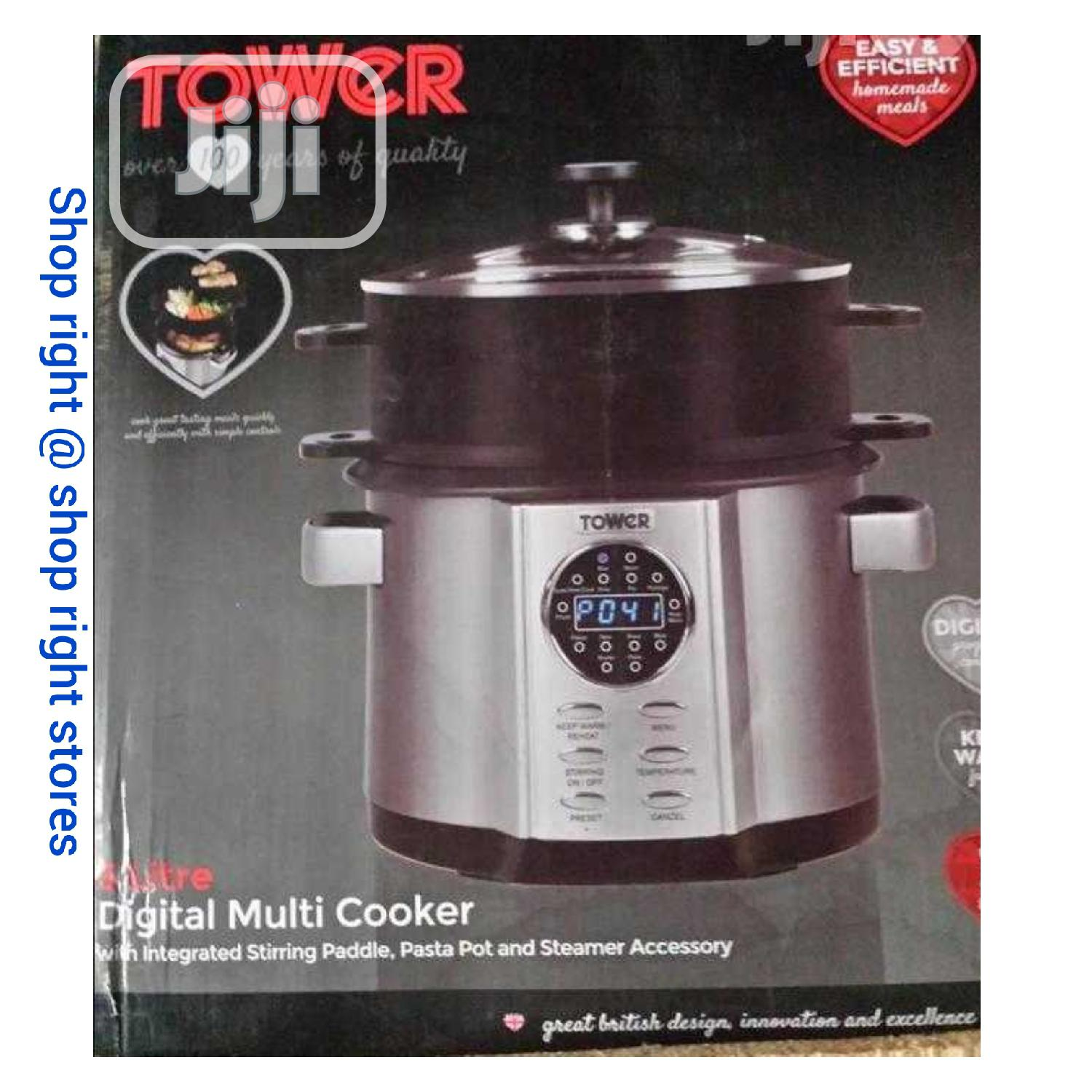 Tower 5layers Multi Cooker