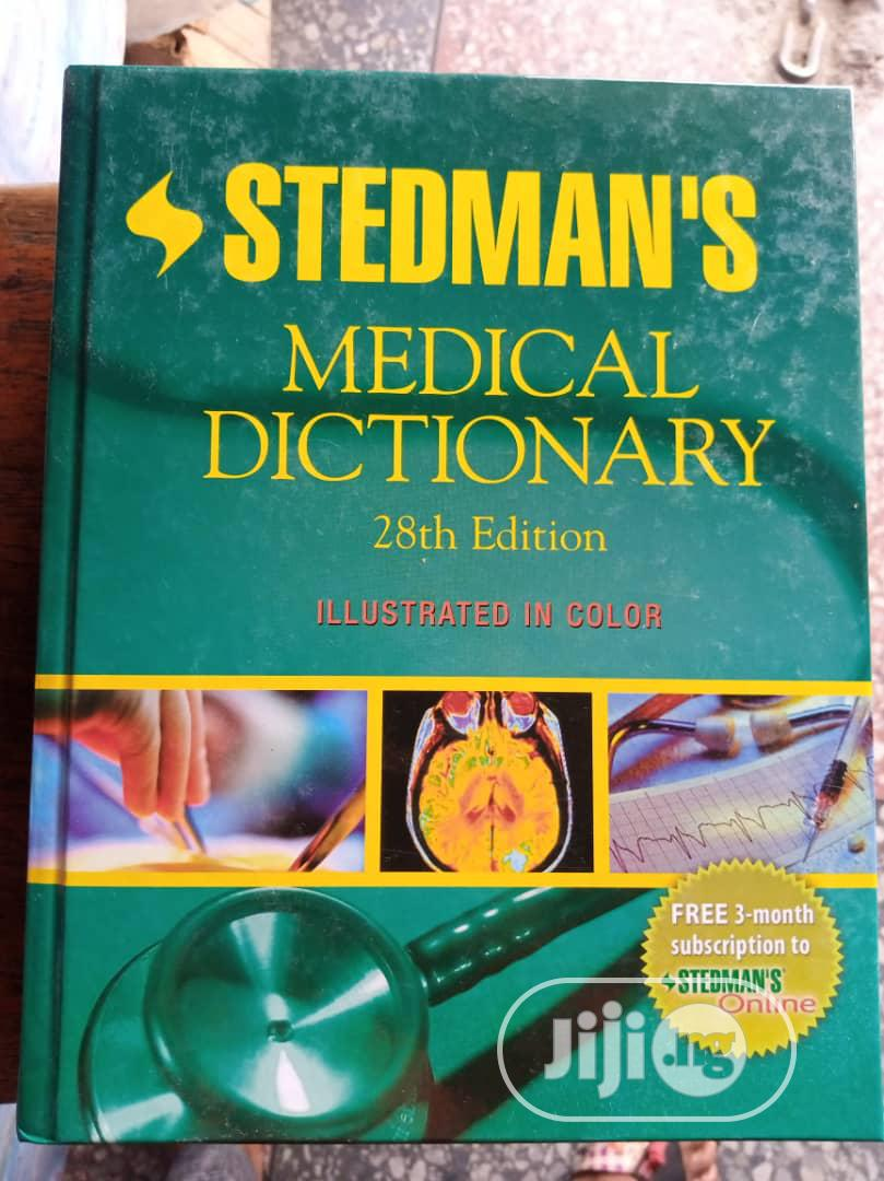 Archive: Stedman's Medical Dictionary 28th Edition
