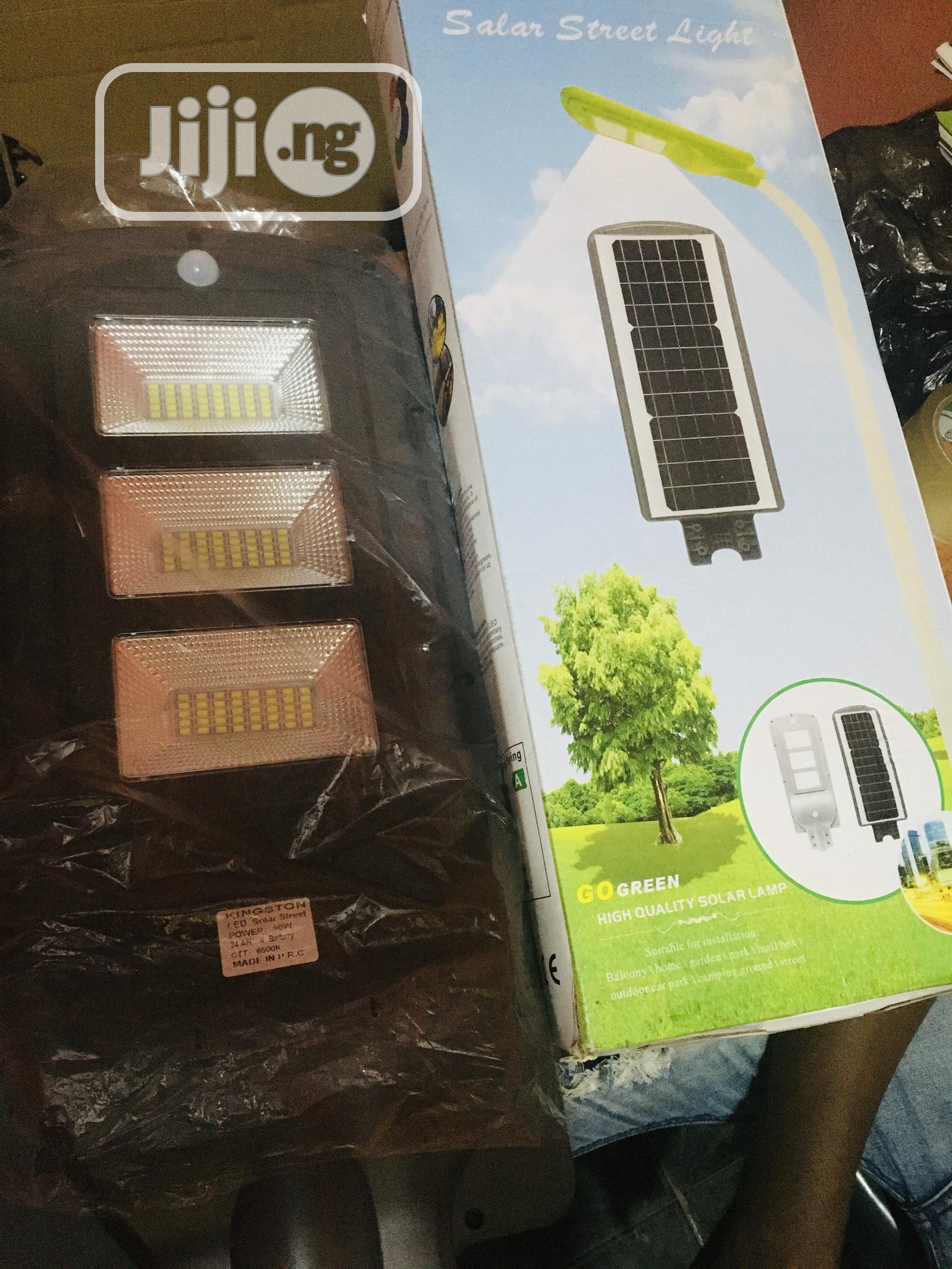 90w Solar Street Light Available With 1yr Warranty
