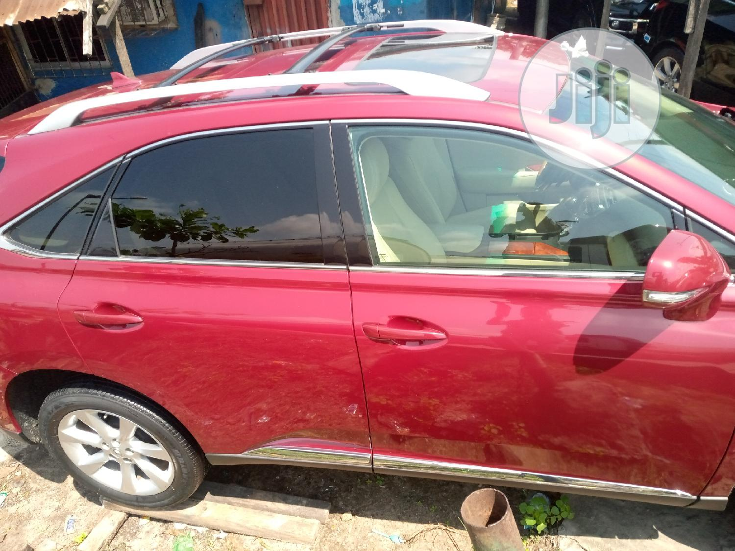 Lexus RX 2010 350 Red   Cars for sale in Apapa, Lagos State, Nigeria