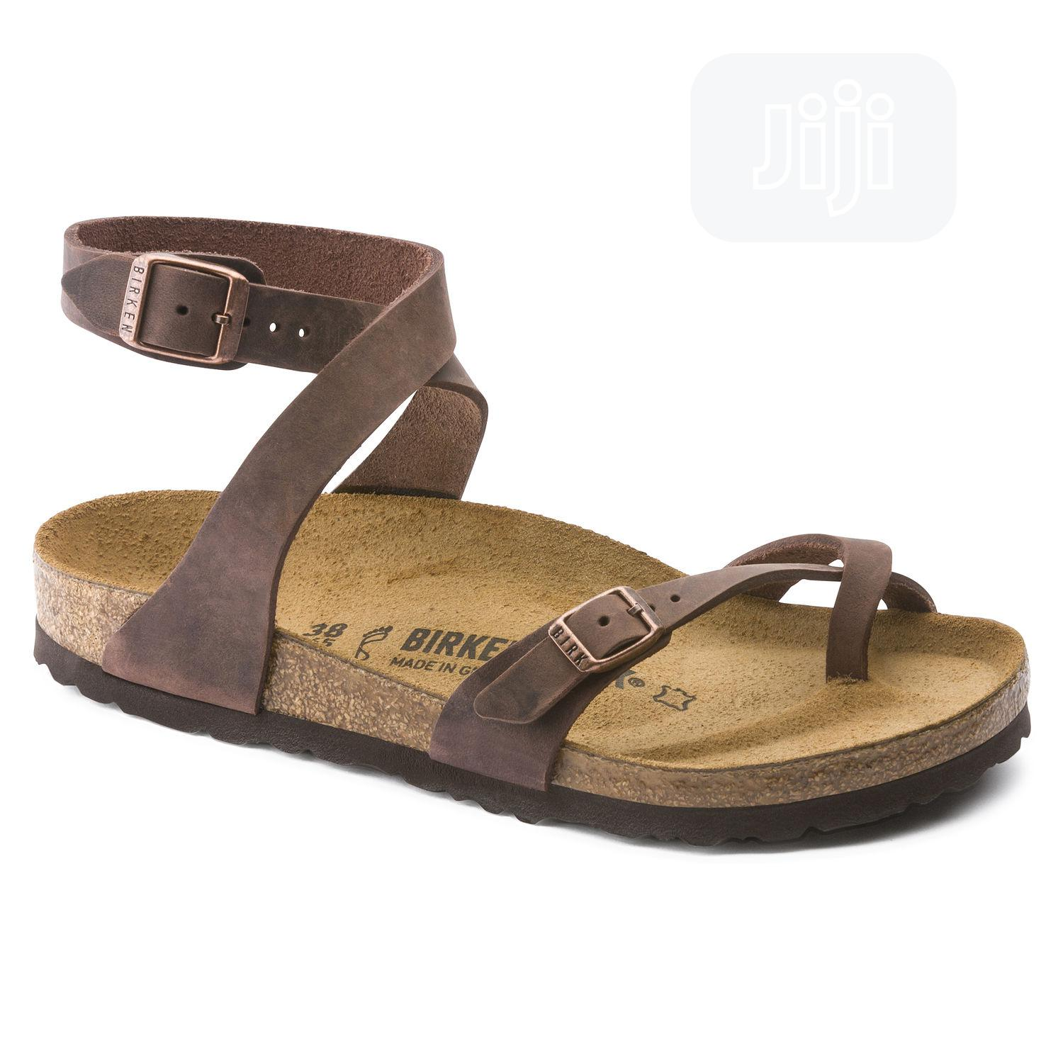 Real Quality Leather Sandals (Berkstocks) | Shoes for sale in Alimosho, Lagos State, Nigeria