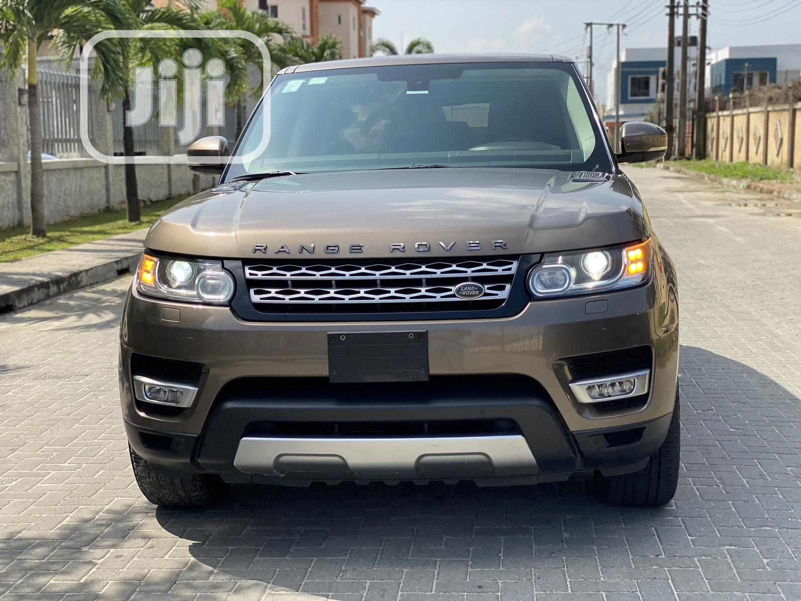 Land Rover Range Rover Sport 2014 HSE 4x4 (3.0L 6cyl 8A) Gold