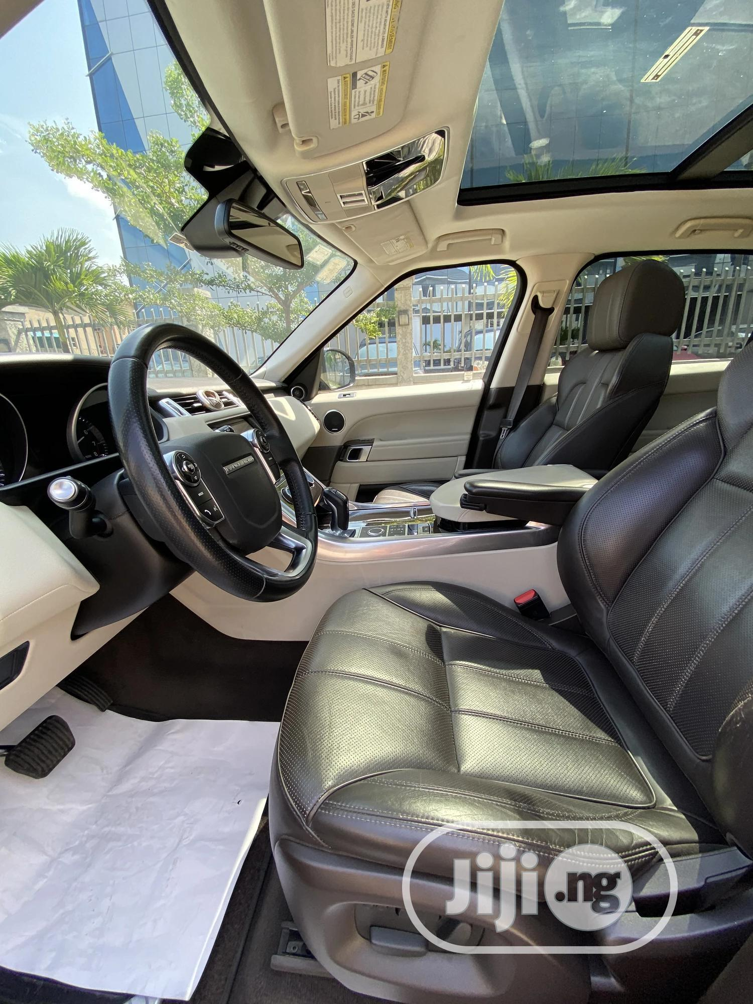 Land Rover Range Rover Sport 2014 HSE 4x4 (3.0L 6cyl 8A) Gold | Cars for sale in Lekki, Lagos State, Nigeria