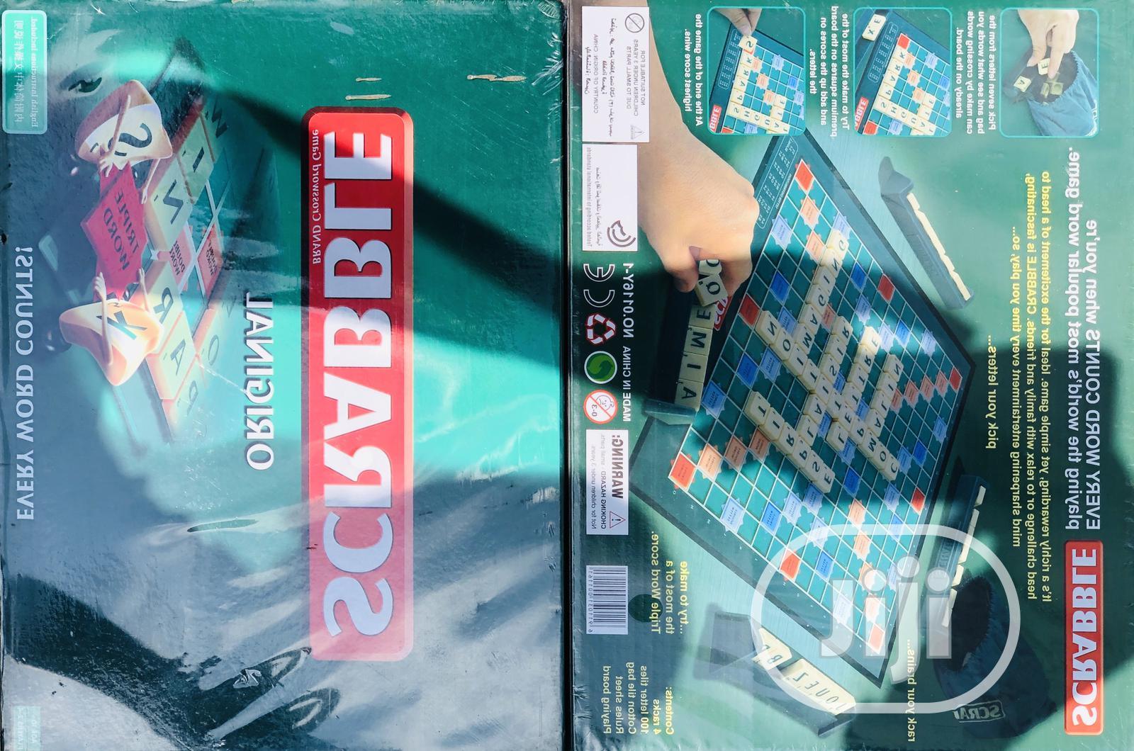 Scrabble Game   Books & Games for sale in Lagos Island (Eko), Lagos State, Nigeria