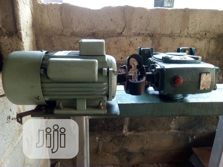 Archive: Fufu Processing Machine