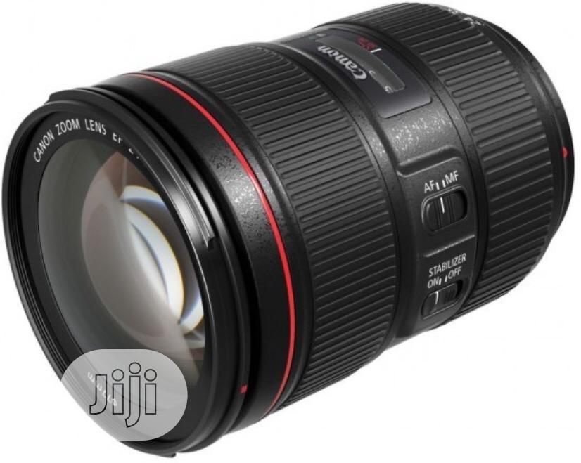 Canon Ef F/4L 24-105mm Lens