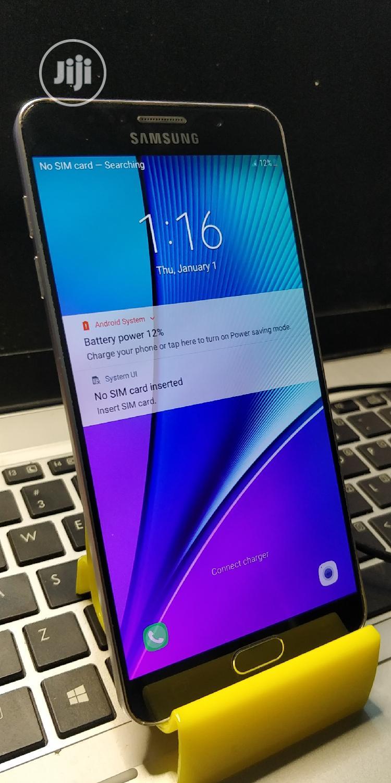 Samsung Galaxy Note 5 32 GB Black   Mobile Phones for sale in Kaduna / Kaduna State, Kaduna State, Nigeria