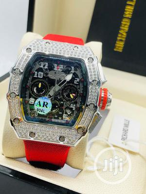 Original Richard Mille Rubber Strap Watch   Watches for sale in Lagos State, Magodo
