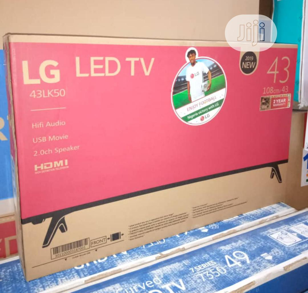 LG LED 43inches Flat Screen Television