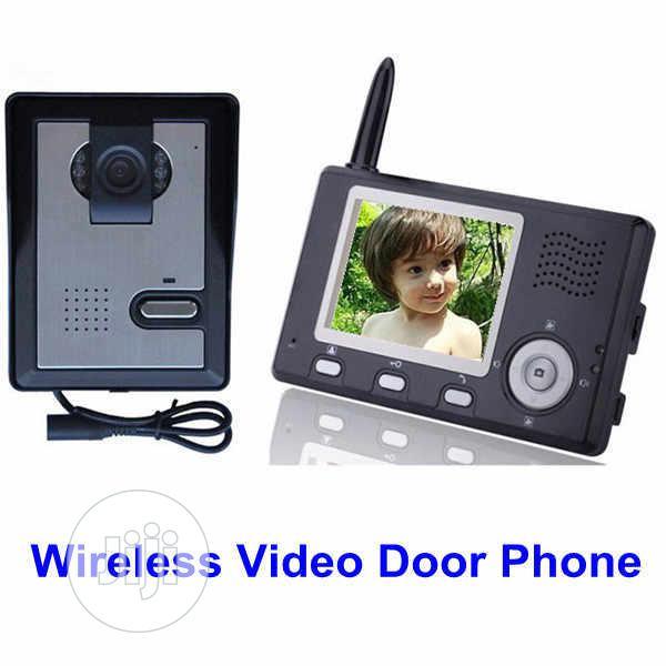 """2.4ghz Digital Wireless Video Door Phone 3.5 """" &7''TFT Color"""