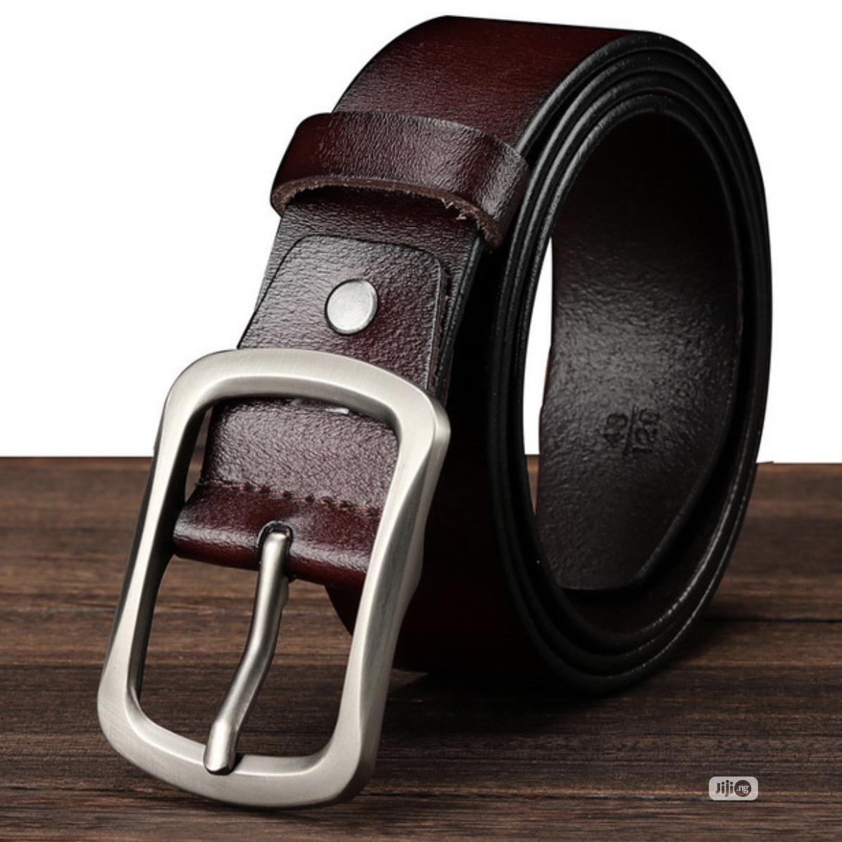 Original Leather Belt - Men