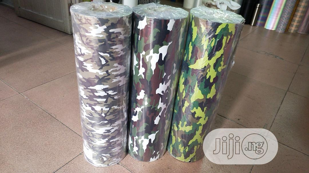 Camouflage Heat Transfer Vinyl   Printing Equipment for sale in Surulere, Lagos State, Nigeria