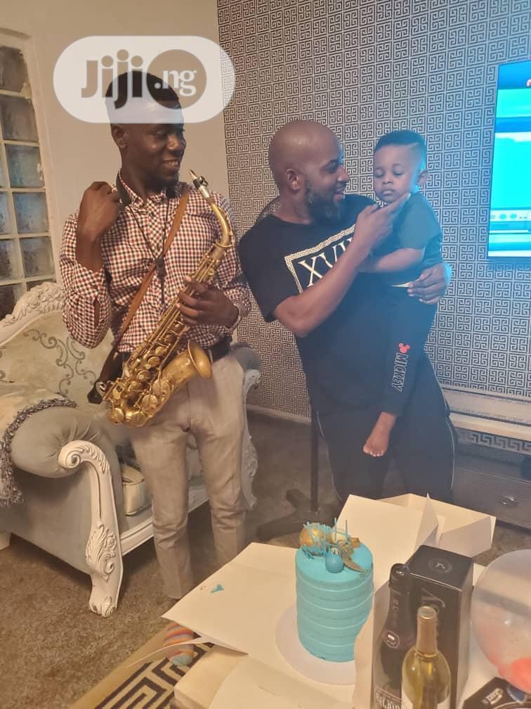 Professional Birthday/Anniversaries Surprise Saxophonist