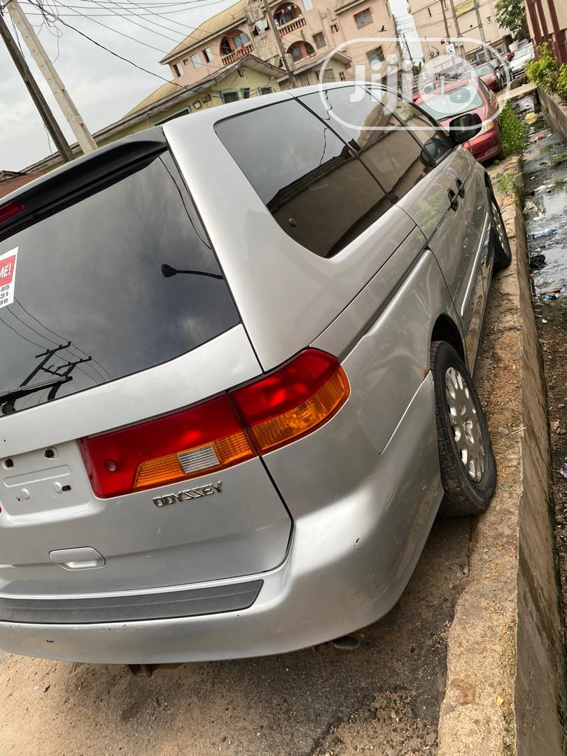 Honda Odyssey LX Automatic 2004 Silver | Cars for sale in Ifako-Ijaiye, Lagos State, Nigeria