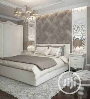 Full Padded 6/6 With 2 Side Bed Cabinets   Furniture for sale in Lagos State, Alimosho