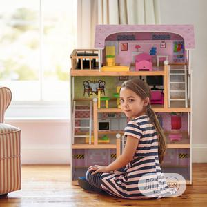 Wooden Doll's House With Accessories | Toys for sale in Lagos State, Lekki