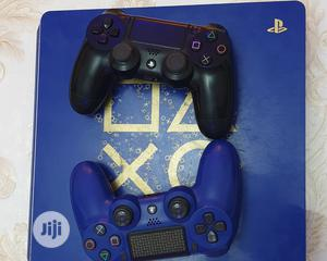 Ps4 Slim 1TB Blue Edition | Video Game Consoles for sale in Lagos State, Ikeja