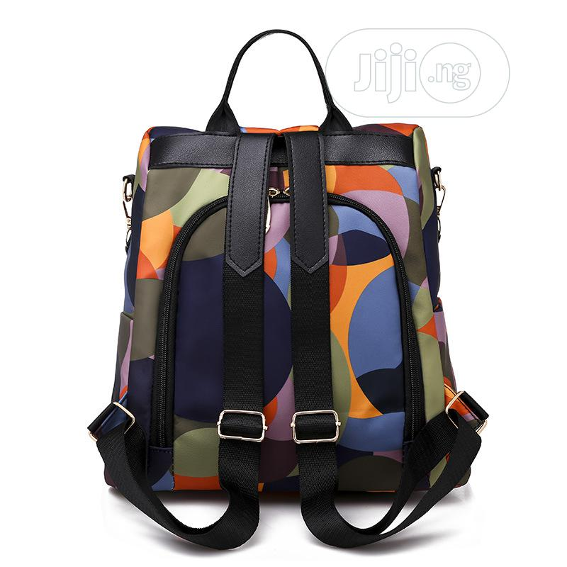 Archive: Multicolored Ladies Fashion Backpack
