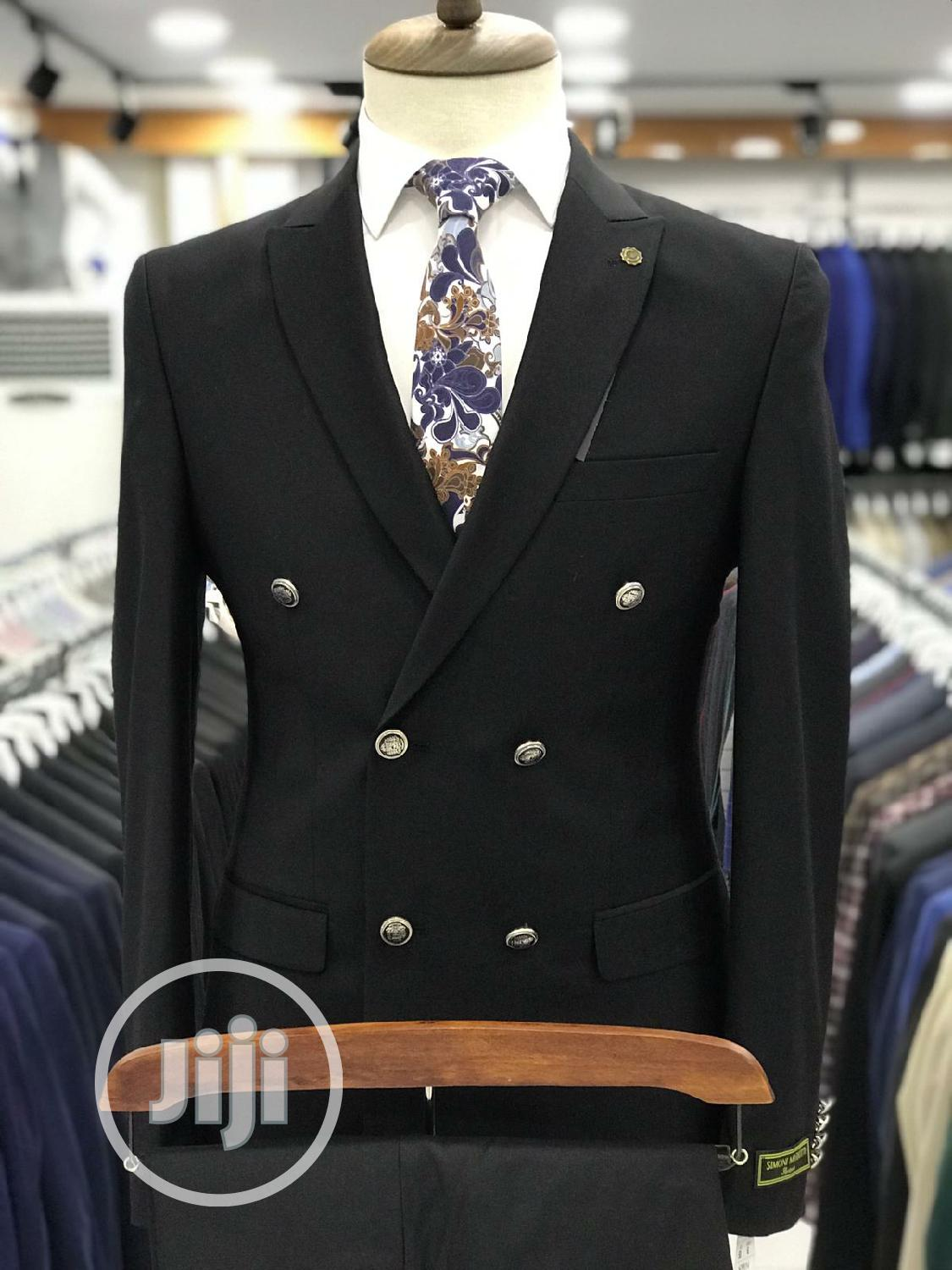 Simoni Marioti Double Breasted Quality Suits