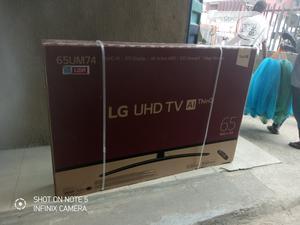 "Korea LG 65""Uhd Active 4K Smart Tv 65um7450 Satellite Wi-fi   TV & DVD Equipment for sale in Lagos State, Ajah"