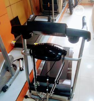 2.5hp Treadmill American Premium With Massager & Mp3 Etc | Sports Equipment for sale in Lagos State, Ikoyi