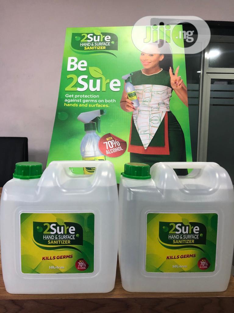 Archive: 2 Sure Hand & Surface Sanitizer