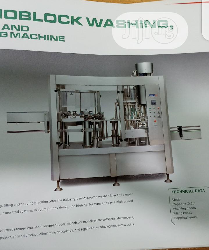 Monoblock Washing Machine