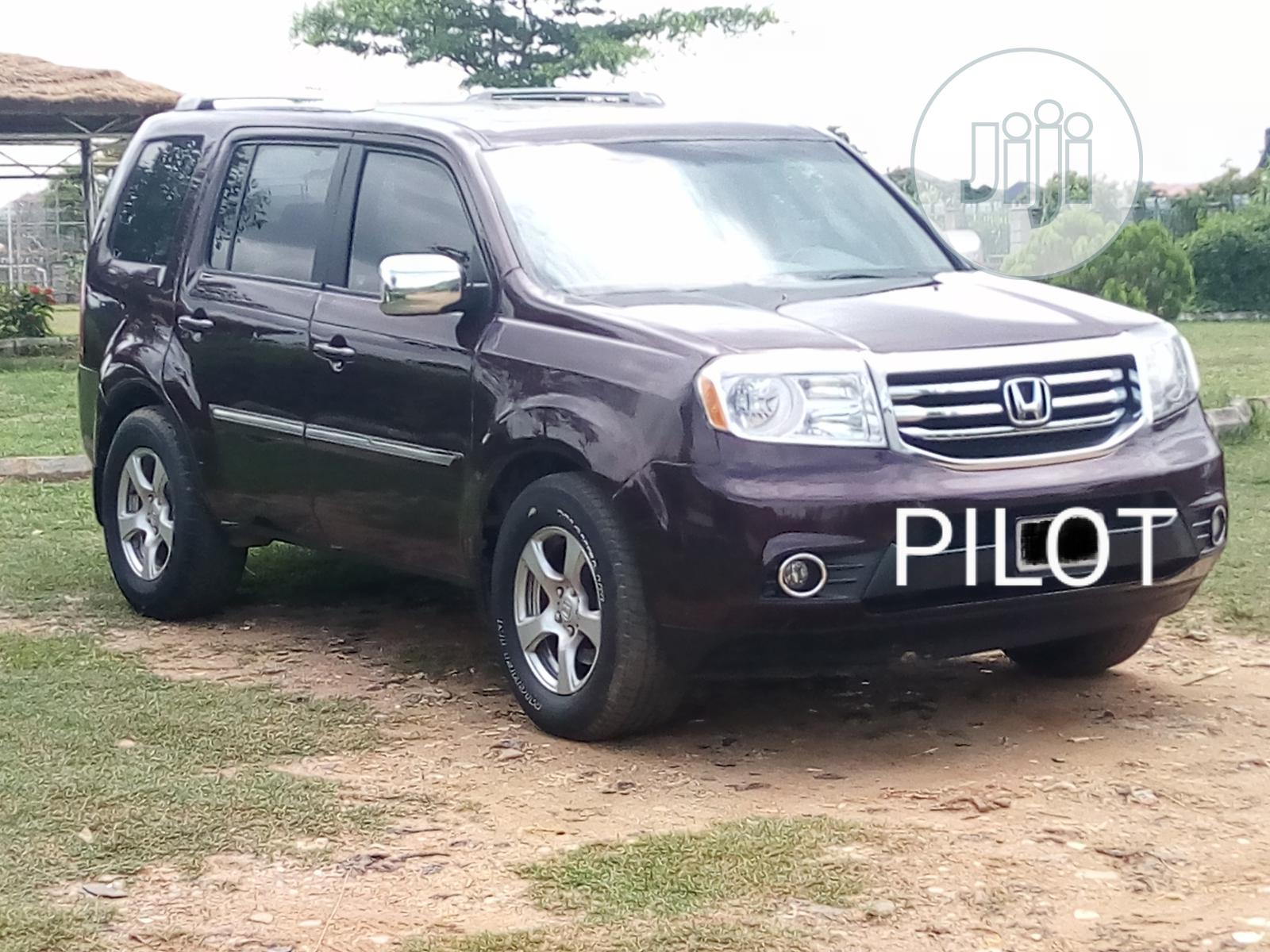Honda Pilot 2013 Red | Cars for sale in Wuye, Abuja (FCT) State, Nigeria