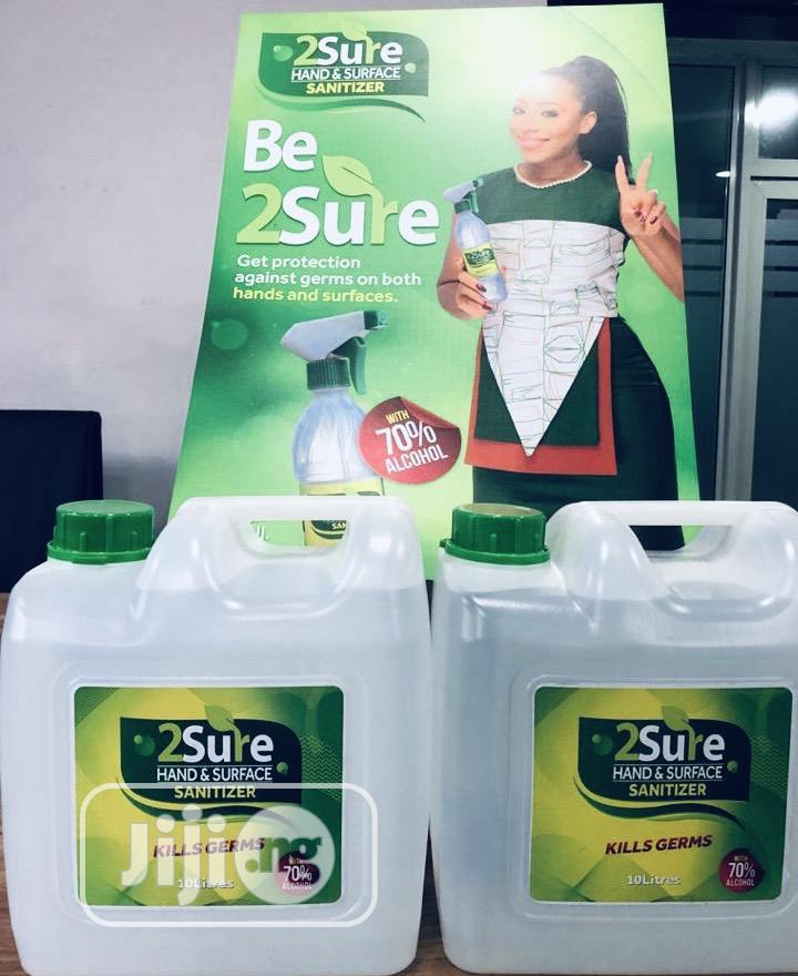 2sure Hand and Surface Sanitizer 10litre   Skin Care for sale in Ikeja, Lagos State, Nigeria