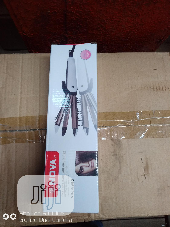 3 in 1 Nova Hair Straightener | Tools & Accessories for sale in Lagos Island (Eko), Lagos State, Nigeria