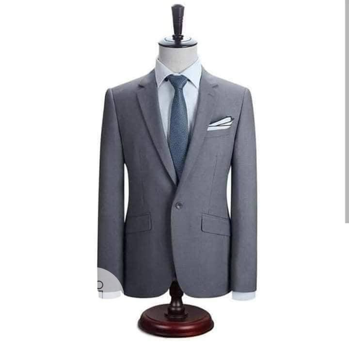 Archive: Fitted Smart Plain Suit