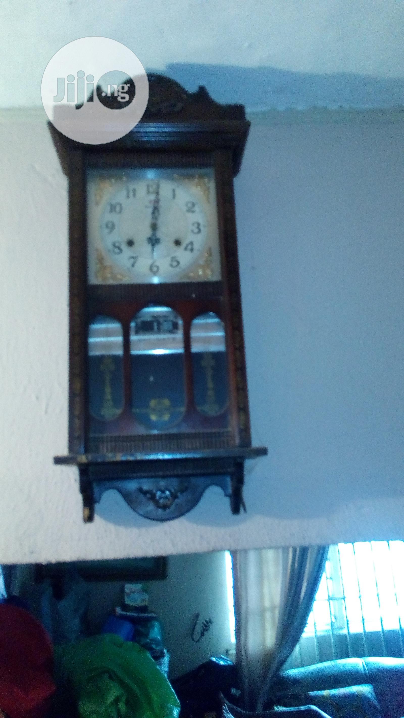 Archive: Antique Pendulum Clock