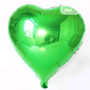 Green Foil Heart Balloon | Party, Catering & Event Services for sale in Lagos State, Amuwo-Odofin