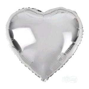 Silver Heart Foil Balloon | Party, Catering & Event Services for sale in Lagos State, Amuwo-Odofin