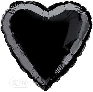 Black Foil Heart Balloon | Party, Catering & Event Services for sale in Lagos State, Amuwo-Odofin