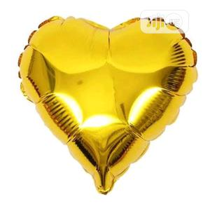Gold Foil Heart Balloon | Party, Catering & Event Services for sale in Lagos State, Amuwo-Odofin