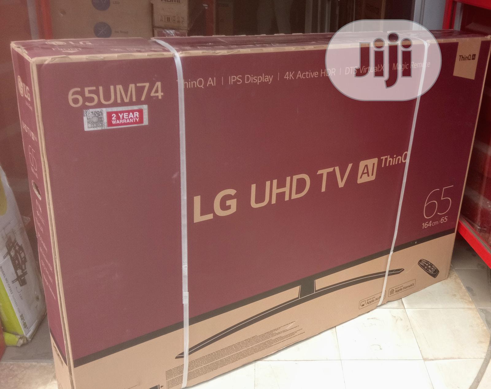 "Webos LG 65""Inch 4K Ultra Hd Smart Satellite(65UM7450)Wi-Fi"