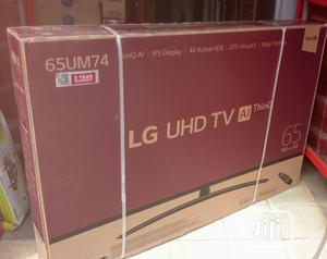 """Webos LG 65""""Inch 4K Ultra Hd Smart Satellite(65UM7450)Wi-Fi   TV & DVD Equipment for sale in Lagos State, Ojo"""