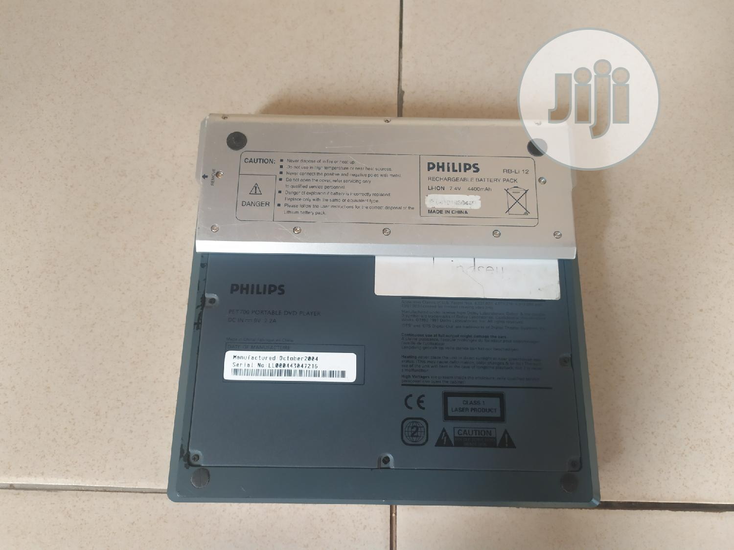 Philips Portable DVD Player With 7 Inches Display   TV & DVD Equipment for sale in Ikeja, Lagos State, Nigeria