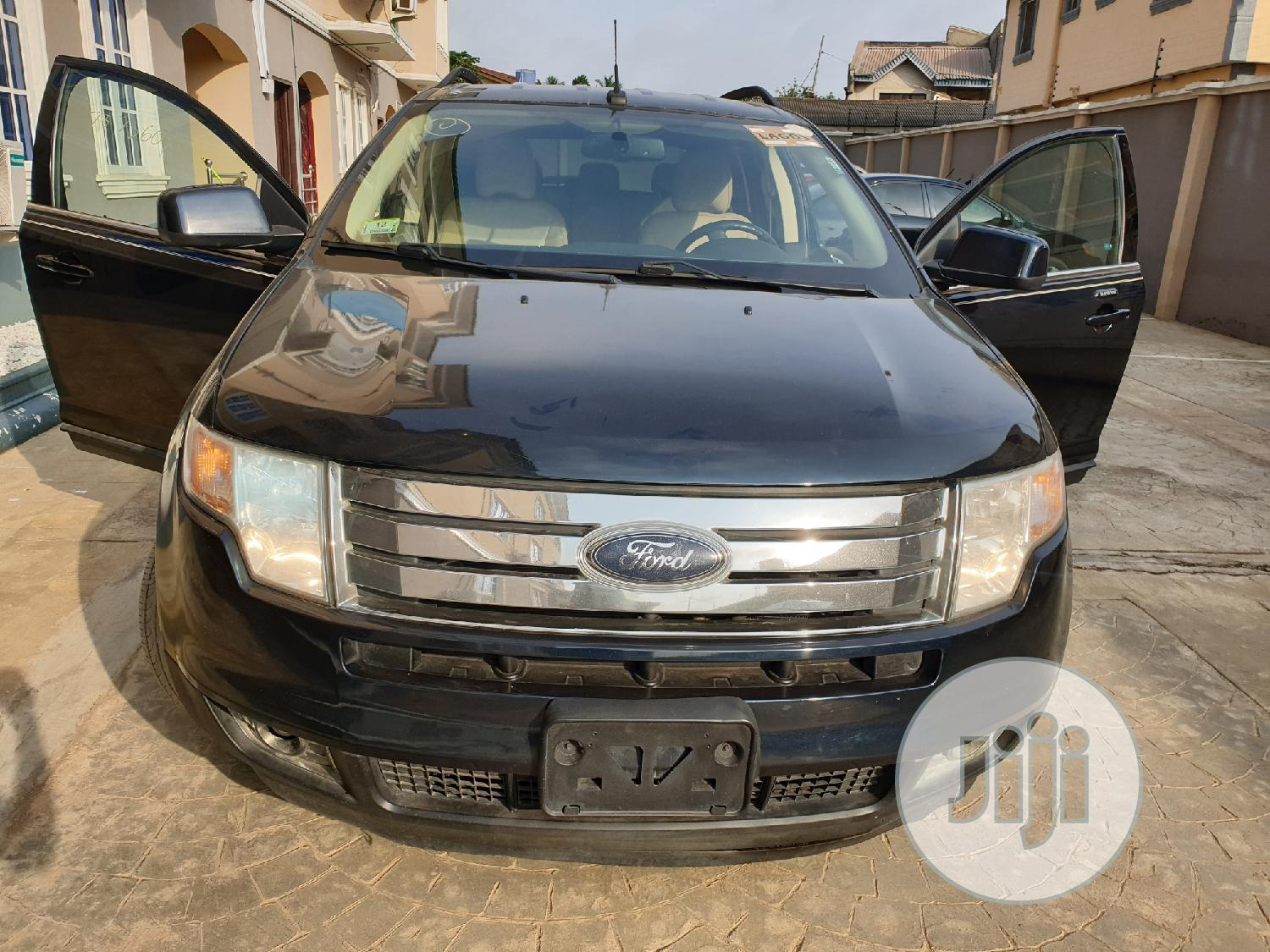 Ford Edge 2008 Blue