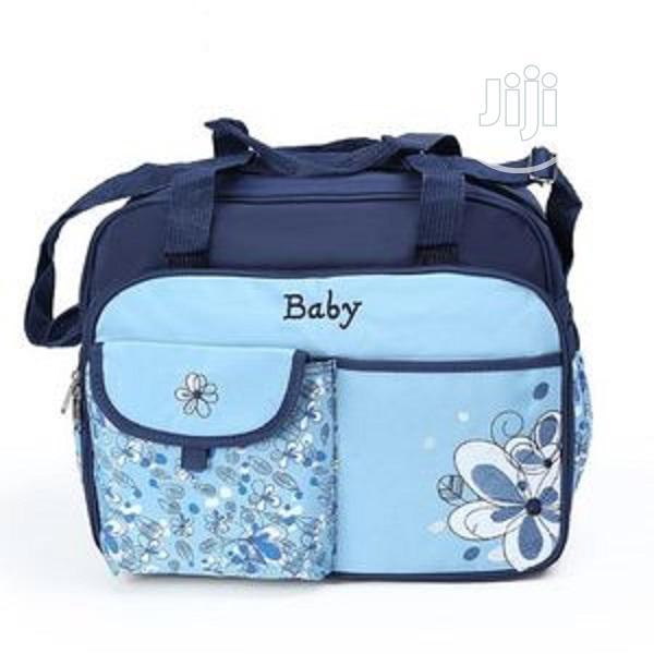 Baby Diaper Bag Large - Blue
