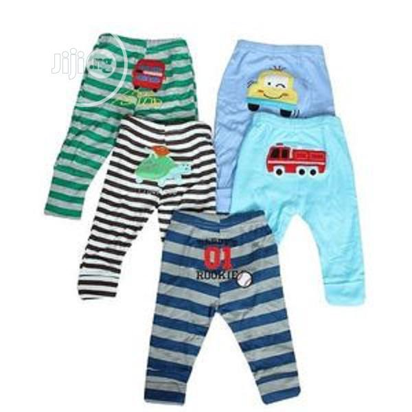 5pcs Baby Boy Tapered Ankle Pull-up Trouser