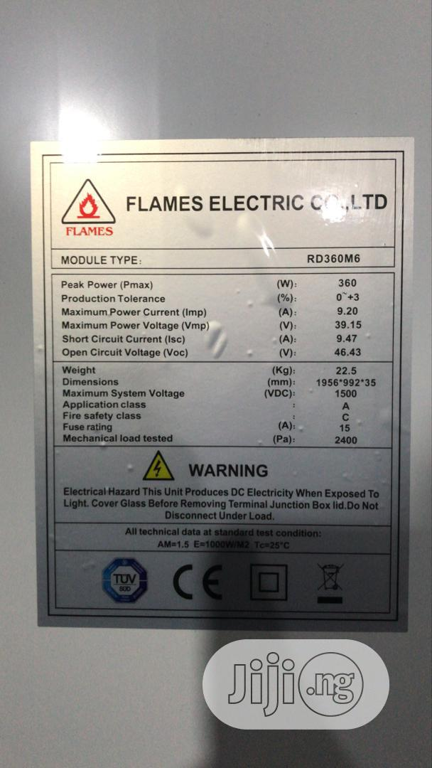 360W Flames Solar Panels | Solar Energy for sale in Ojo, Lagos State, Nigeria