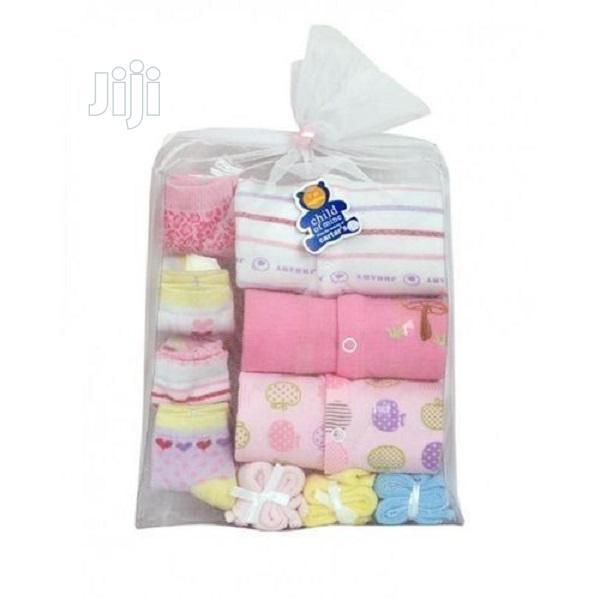 10 In 1 Unisex New Born Gift Pack (Bodysuits)