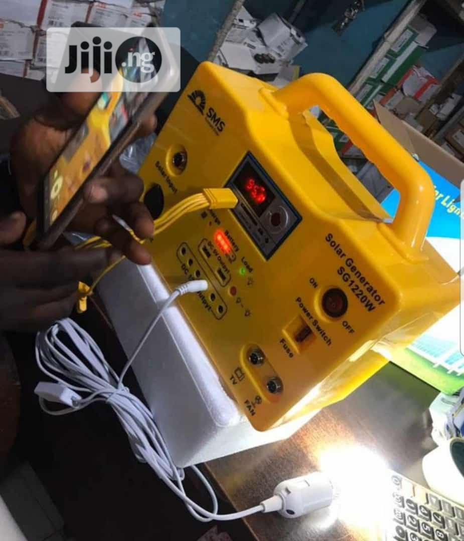 Sms Solar Generator