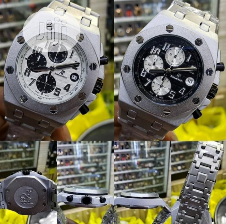 Audemars Piguet Silver Watch