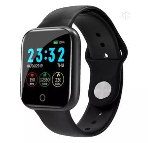 I5 Heart Rate Monitor Fitness Tracker Blood Pressure | Smart Watches & Trackers for sale in Lagos State, Ojo