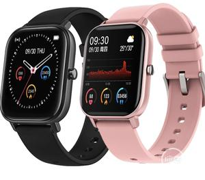 P8 Smartwatch Full Touch Fitness Tracker Blood Pressure | Smart Watches & Trackers for sale in Lagos State, Ojo